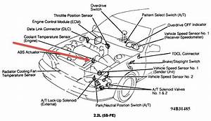 1994 Toyota Camry 22 Code  I Found Code 22 Appeared But