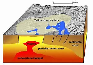 The Yellowstone Supervolcano Has Two Magma Chambers  Say