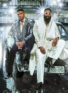 James Harden And Russell Westbrook On The Great Houston