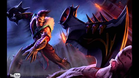 Darius Animated Wallpaper - draven dreamscene hd wallpaper animated login