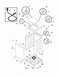 Frigidaire Glws1649as1 Washer Parts