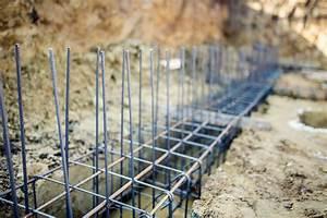 Ferraillage Fondation Mur De Cloture : fondations en b ton pour cl ture ~ Dailycaller-alerts.com Idées de Décoration