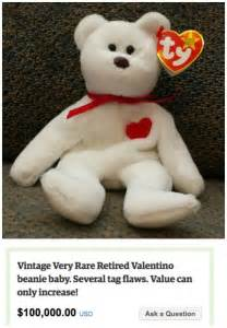 Most Valuable Beanie Babies Valentino