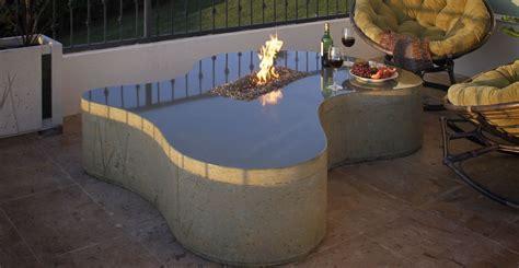 Concrete Fire Table   CHENG Concrete Exhange