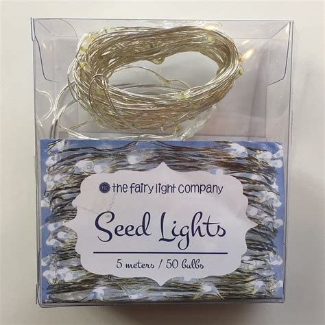 pure white fairy lights the fairy light company battery seed fairy lights silver