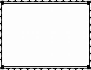 Simple Black Borders Clipart - Clipart Suggest