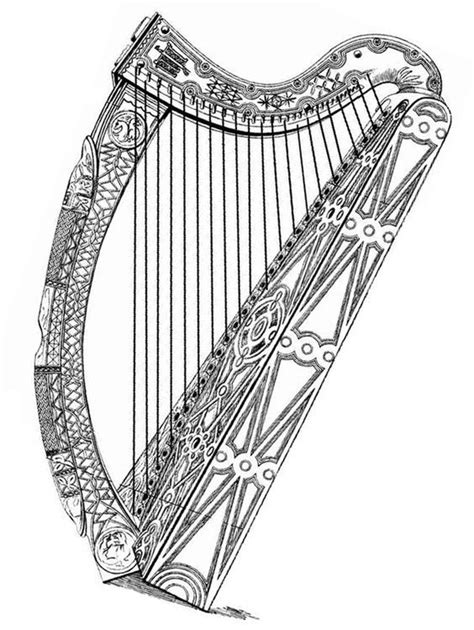 313 best Harp Sketch/ Illustration images on Pinterest | Harp, Funniest pictures and Funny images
