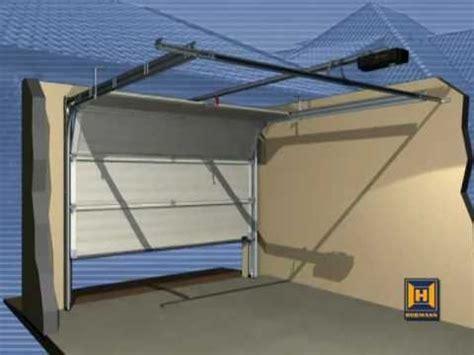 hormann electric garage door operator installation guide