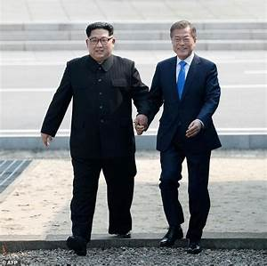 North and South Korea hold historic summit | Daily Mail Online