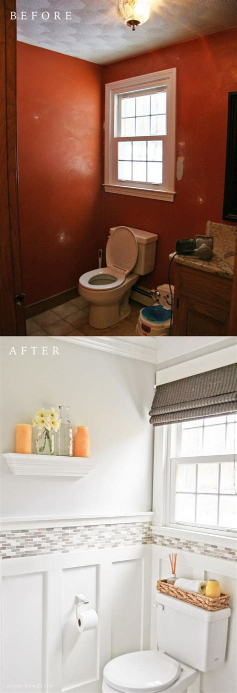 Bathroom Makeovers Before And After Pictures by 50 Gorgeous Bathroom Makeovers With Before And After