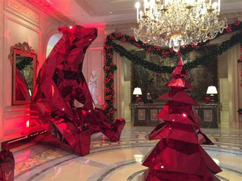 great christmas decoration   lobby picture