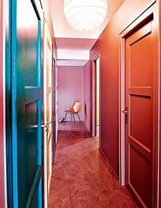 Aux Portes De La Deco : 20 id es peinture pour s amuser avec la couleur marie claire ~ Nature-et-papiers.com Idées de Décoration
