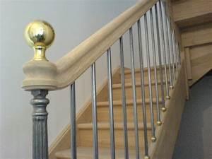 Boule De Rampe D Escalier : boules d 39 escaliers ~ Melissatoandfro.com Idées de Décoration
