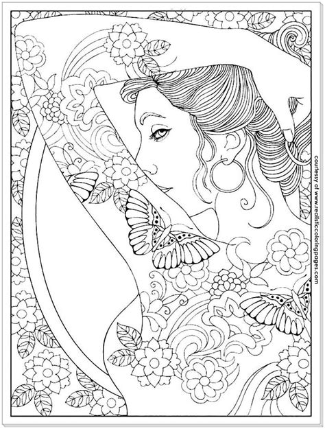 Body Art tattoo designs coloring pages | Adult coloring