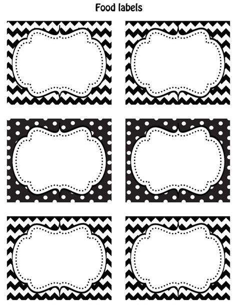 unique label templates ideas  pinterest print