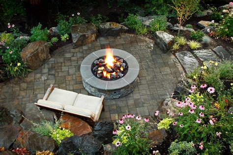 Brick And Concrete Fire Pits Hgtv
