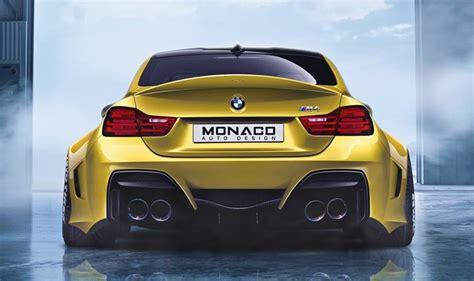 Modifikasi Bmw M4 Coupe by Wide Monaco Auto Design Bmw M4