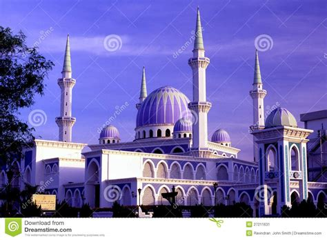 sultan ahmad shah state mosque editorial photo image