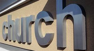 cast metal letters order cast bronze and aluminum sign With outside letters for buildings