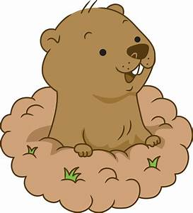 Cartoon Groundhog Clipart (72+)
