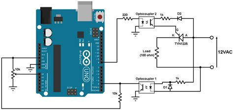 Scr Control With Arduino Half Wave Controlled Rectifier