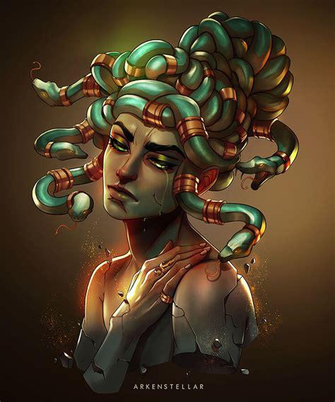 ArtStation - Medusa, Arkenstellar