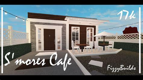 Menu welcome to blox burg roblox. Bloxburg S'mores Cafe 🤎 - YouTube