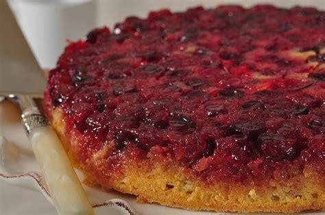 cranberry upside  cake video recipe joyofbakingcom