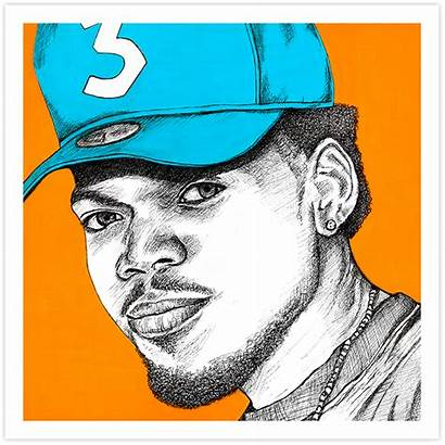 Rapper Chance Drawing Clipart Clipartmag