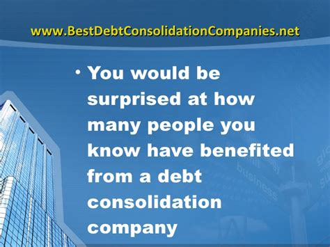 Best Debt Consolidation Company Following The People You Trust. Free Computer Science Courses. Internships In Criminal Justice. Physician Assistant Online Schools. Moving Companies Stafford Va. Photoshop Business Card Templates. List Of Banks In Orlando Florida. Ellis Hospital School Of Nursing. Erie Car Insurance Quote Best Ddos Protection