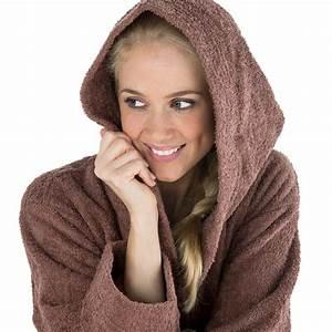 Bademantel Frottee Damen Kapuze : kapuzen bademantel morgenmantel sauna wellness frottee baumwolle oekotex montana ebay ~ Watch28wear.com Haus und Dekorationen