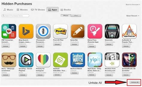 there are purchased items on the iphone how to unhide purchased apps on iphone using itunes 2591