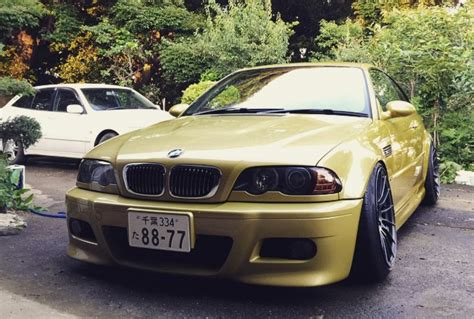 Bmw M3 E46 Follows Strange New Japanese Tuning Trend