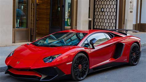 Wallpapers Lamborghini Aventador Lp7004 Red Cars 1600x900