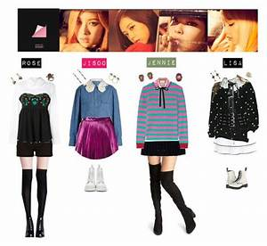 40 best Black Pink outfits images on Pinterest | Kpop outfits Inspired outfits and Korean fashion