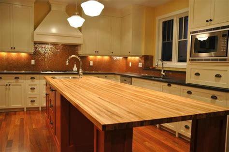 Butcher Block Countertops Design Ideas