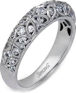 filigree wedding band simon g filigree wedding band mr1523