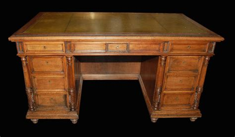 executive desk for sale french walnut executive desk for sale antiques com