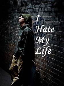 I Hate My Life 240x320 Mobile Wallpaper | Mobile ...