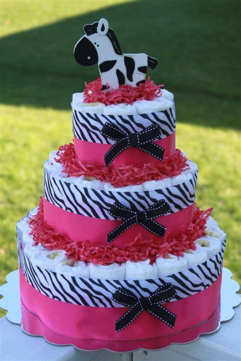 ideas  zebra diaper cakes  pinterest