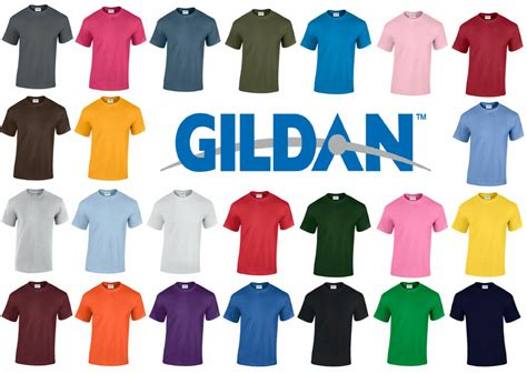 T Shirt 24 new plain blank gildan g5000 100 heavy cotton t shirt 24