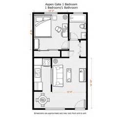 one bedroom house floor plans 1 bedroom apartment floor plans 500 sf du apartments floor plans rates aspen gate