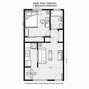 1 bedroom apartment floor plans 500 sf du apartments With small 1 bedroom apartment layout
