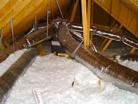 case closed   air conditioning ducts    attic