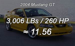 2015 Ford Mustang Weight
