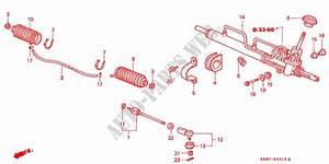 Power Steering Gear Box For Honda Cars City Li 4 Doors 5