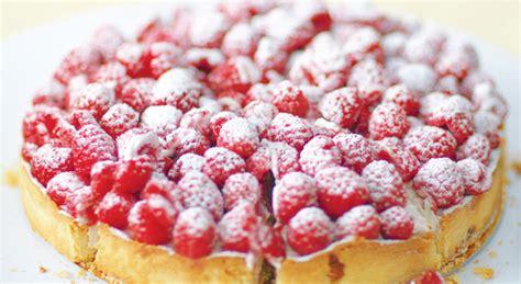 la cuisine au beurre recette de la tarte aux framboises et aux amandes