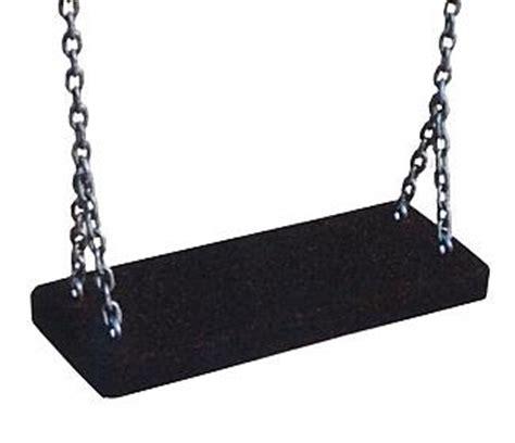 siege balancoire adulte siège de balançoire standard noir avec chaines pièces