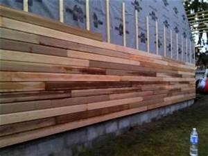 fabrication en atelier et montage chantier d39ossature bois With good photo bardage bois exterieur 1 bois 2 bout realisations bardage red cedar