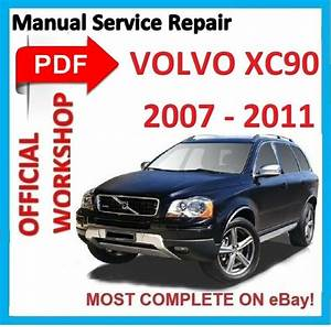 Official Workshop Manual Service Repair For Volvo Xc90